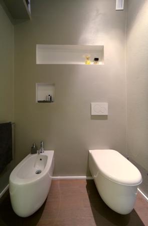 Come ristrutturare un bagno ristrutturazione low cost - Nicchie in bagno ...