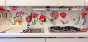 Rivestimenti per le pareti quali scegliere ristrutturazione low cost - Carta parati cucina lavabile ...