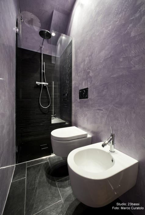 Rivestimenti per le pareti quali scegliere ristrutturazione low cost - Pareti bagno senza piastrelle ...