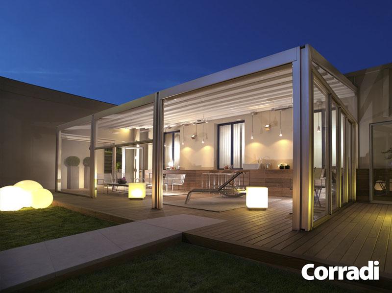 Le strutture per esterni ristrutturazione low cost - Strutture in alluminio per esterno ...