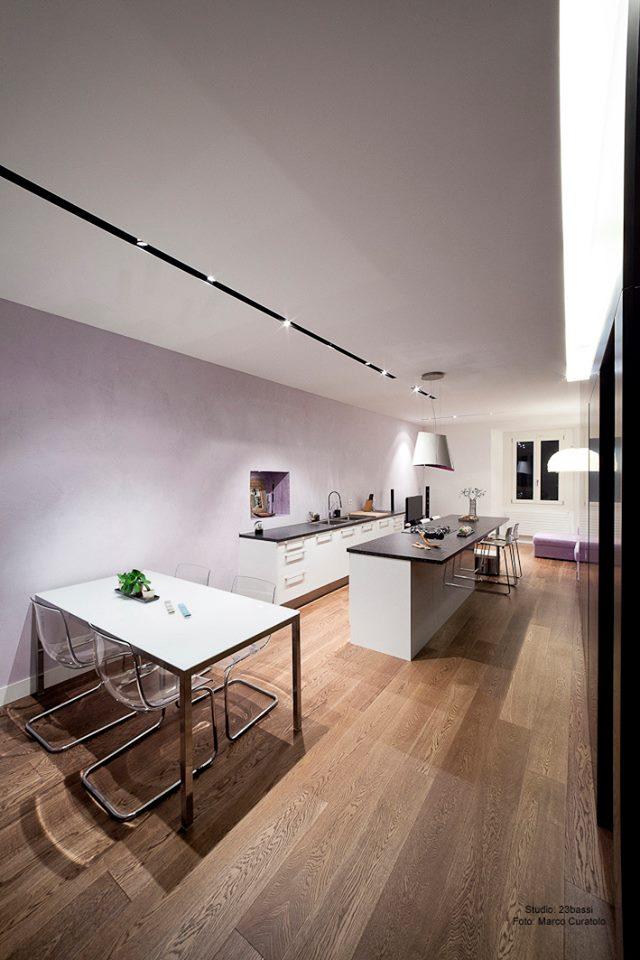 ristrutturazione di un appartamento di 65 mq