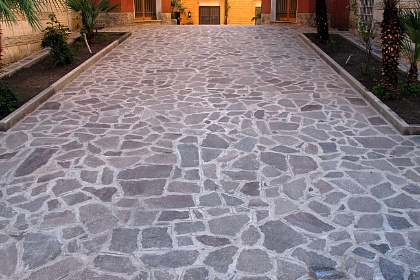 Pavimentazione per esterni terrazze giardini e viali - Pavimentazione cortile esterno ...