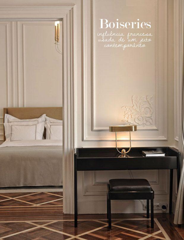Il ritorno delle boiserie ristrutturazione low cost - Boiserie camera da letto ...