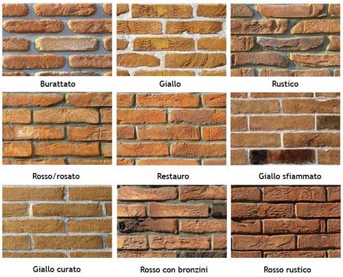 Arredare con mattoni a vista ristrutturazione low cost for Mattoni finti per interni