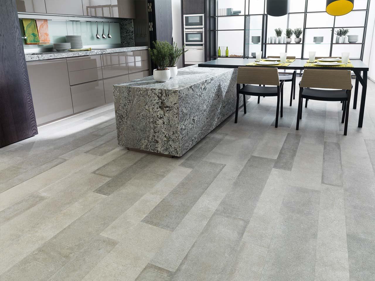 Pavimento effetto legno in gres porcellanato for Pavimento de cemento