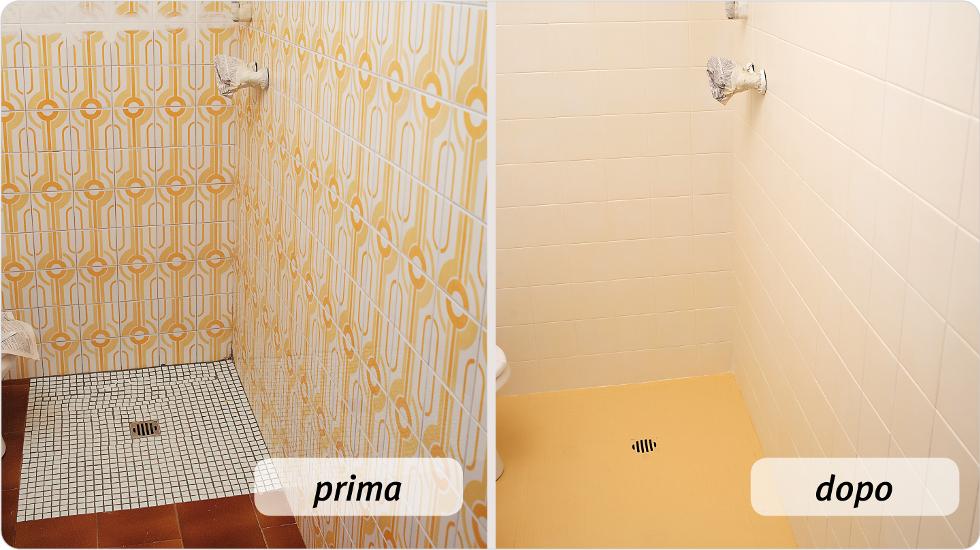 Come rinnovare le piastrelle di casa - Dipingere piastrelle bagno ...