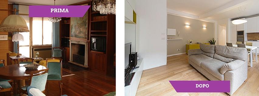 Cosa fare per ristrutturare casa ristrutturazione low cost for Immagini di appartamenti ristrutturati