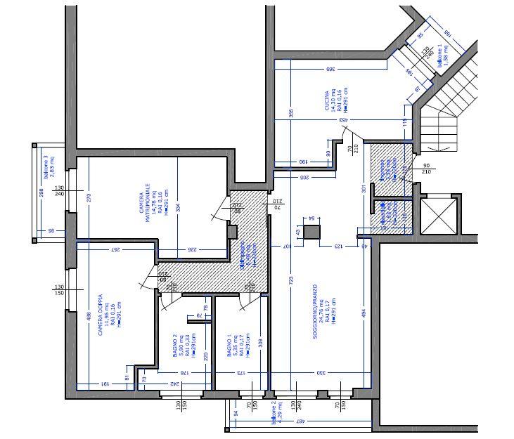 Ristrutturazione di un mini loft - Ristrutturazione Low Cost